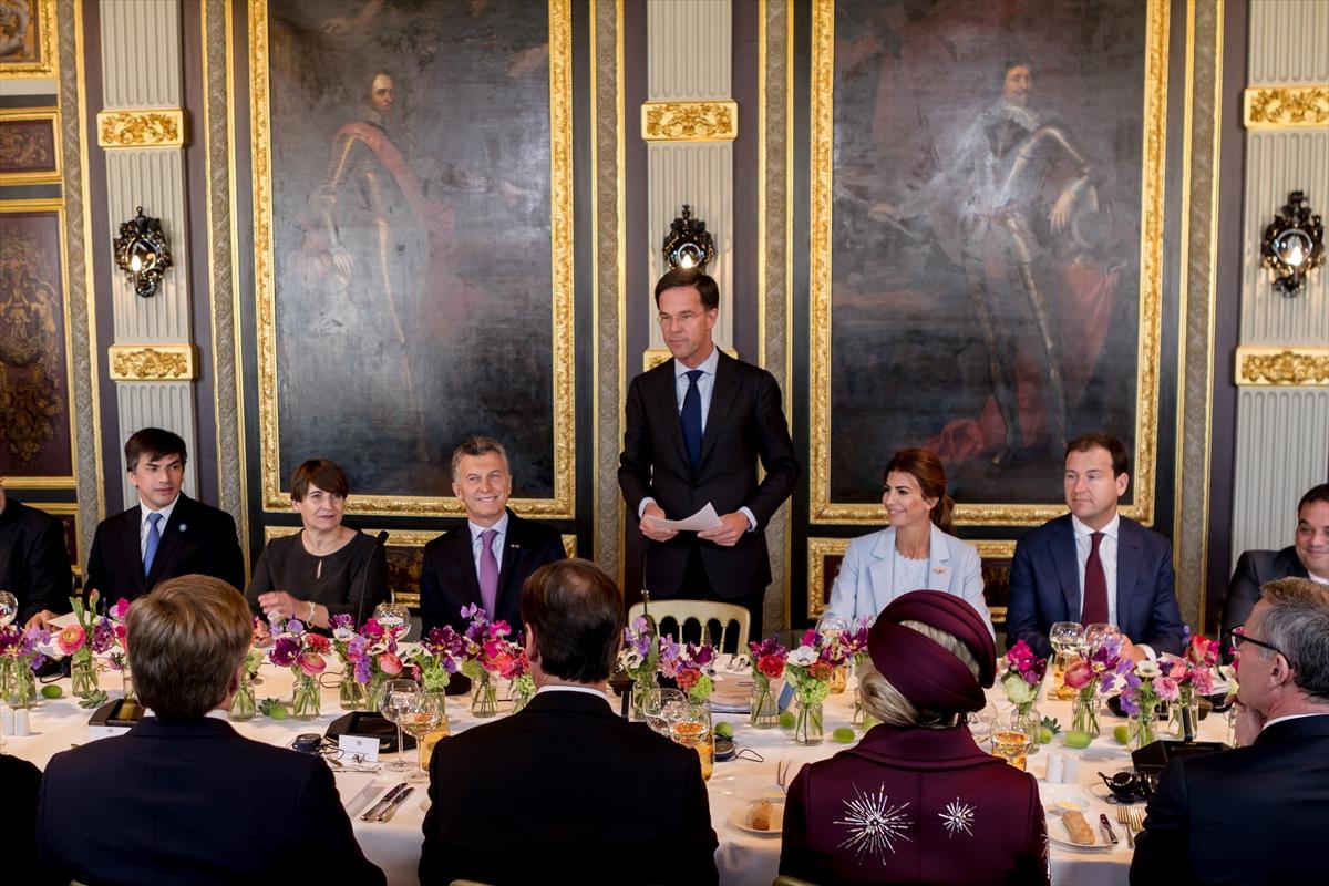 Arjantin Devlet Başkanı Mauricio Macri'nin Hollanda ziyareti