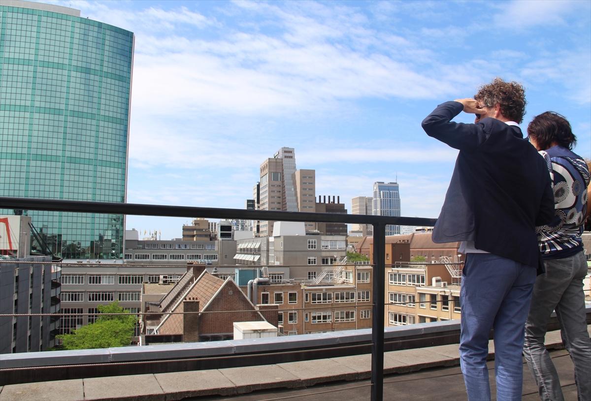 Hollanda'da açık çatı günleri düzenlendi