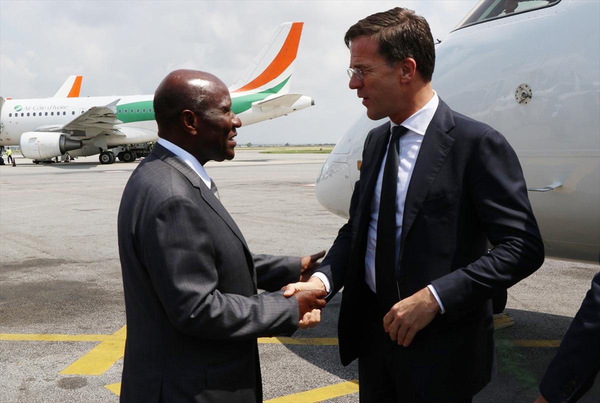Hollanda Başbakanı Rutte, Fildişi Sahili Cumhuriyeti'nde