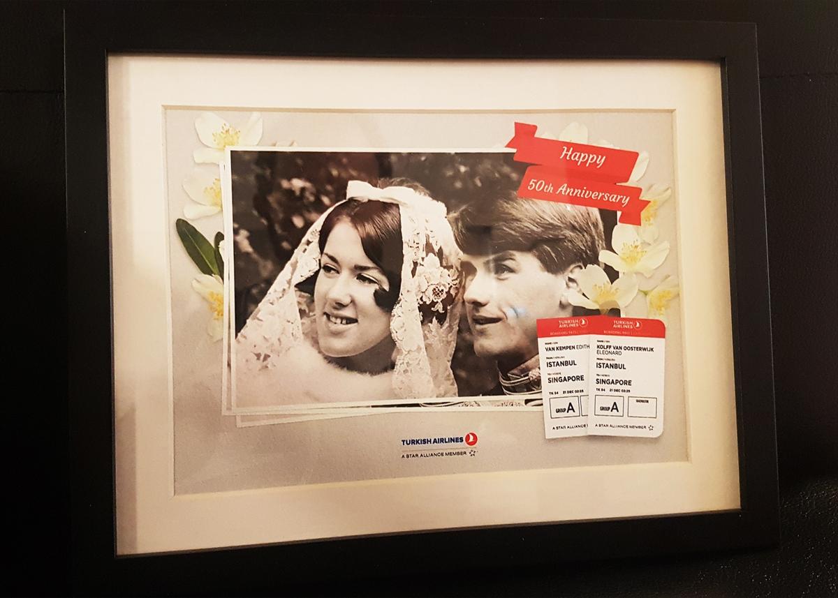 THY'den Hollandalı çifte yıl dönümü sürprizi