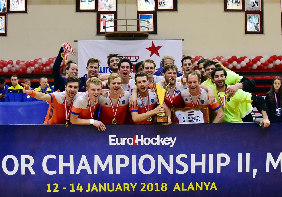 Avrupa Erkekler Salon Hokeyi Şampiyonası
