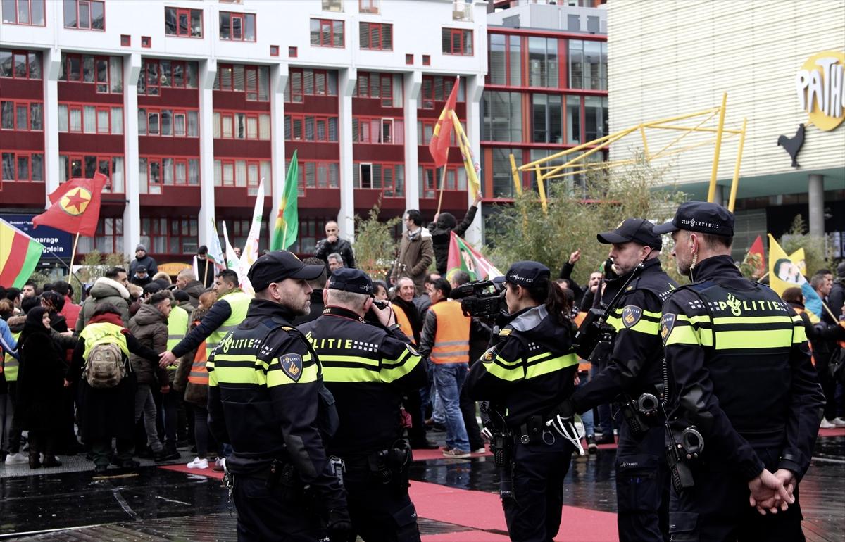 Hollanda'da PYD/PKK yandaşları Türklere saldırdı