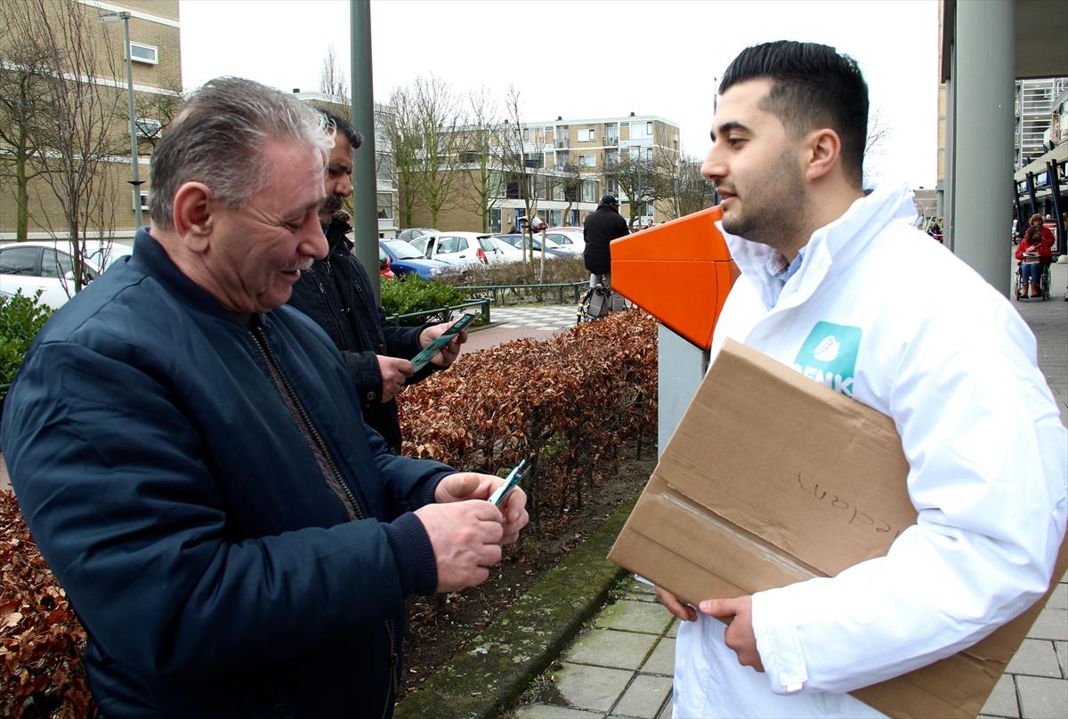 Denk Partisi Hollanda'nın en genç tabana sahip