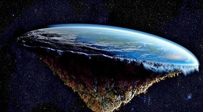Dünya yuvarlak değil düzmüş