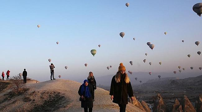 437 duizend passagiers bij Ballonvluchten Cappadocië