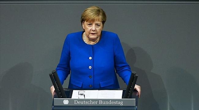 Almanya Başbakanı Merkel: Türkiye'nin güvenlik çıkarları diplomatik yollarla korunabilir
