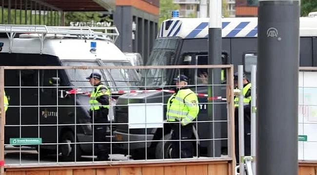 """Hollanda'da """"iklim değişikliği""""ne karşı işgal eylemleri"""
