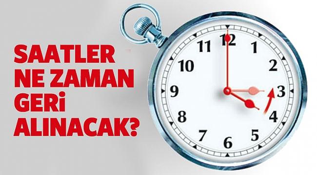 Hollanda'da Kış saati uygulaması ne zaman başlayacak? Saatler ne zaman 1 saat geri alınacak