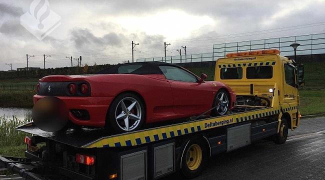 Polis kara para aklama soruşturmasında Ev ve Ferrari'yi ele koydu