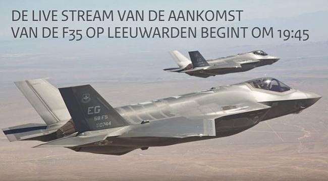 Hollanda'nın ilk F35'i yanlışlıkla köpük banyosu yaptı