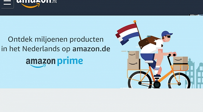 Amazon Hollanda açıldı