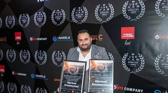 Hollanda'da Türk Şoför okulu yılın en iyisi