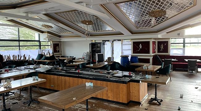 Den Haag'daki Soba Türk restoranı yağmalandı ve kundaklandı