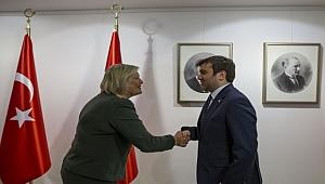 Dışişleri Bakan Yardımcısı Kıran, Hollanda Göç Bakanı Broekers-Knol ile görüştü