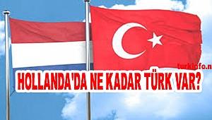 Hollanda'daki Türk Nüfusu: Hollanda'da kaç Türk yaşıyor?