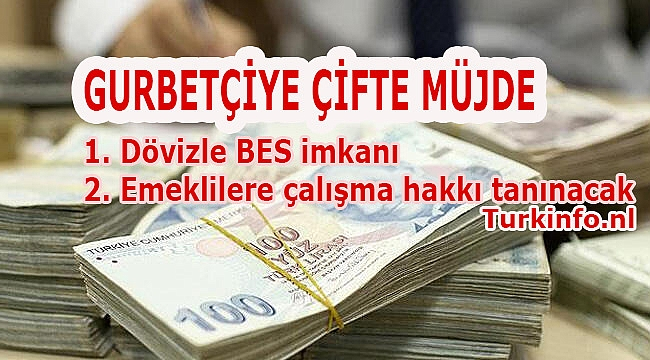 Yurtdışı Türklere 2 yeni müjde: Yurtdışındakiler dövizle BES'e katılacak