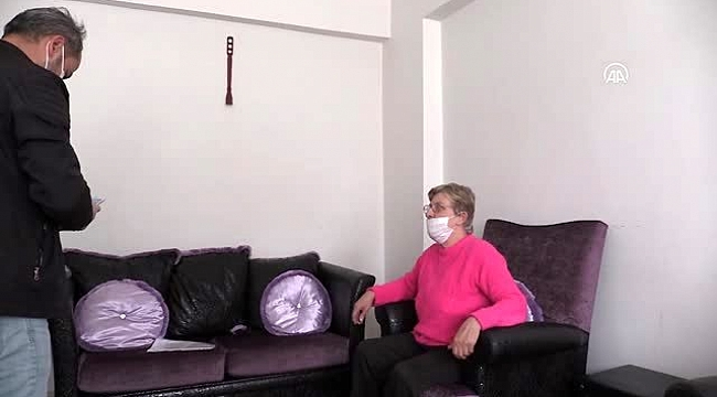 """""""Devletin şefkat eli"""" Hollandalı yaşlı kadının üstünde"""