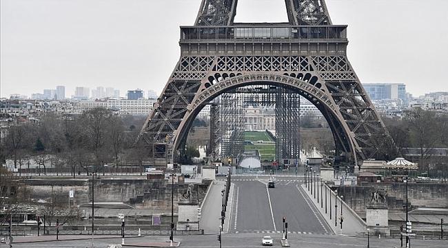 Fransa'da yeni tip koronavirüsten ölenlerin sayısı 860'a yükseldi