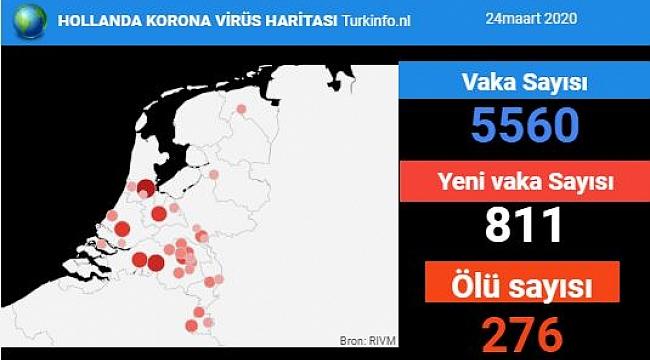 Hollanda'da koronavirüs nedeniyle can kaybında rekor artış