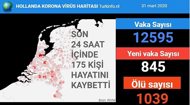 Hollanda'da koronavirüs nedeniyle ölenlerin sayısında rekor artış, 1 günde 175 kişi öldü