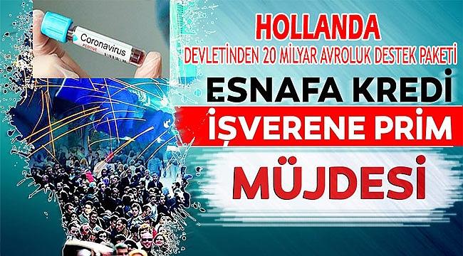 Hollanda Hükümetinden işverenlere yardım paketi