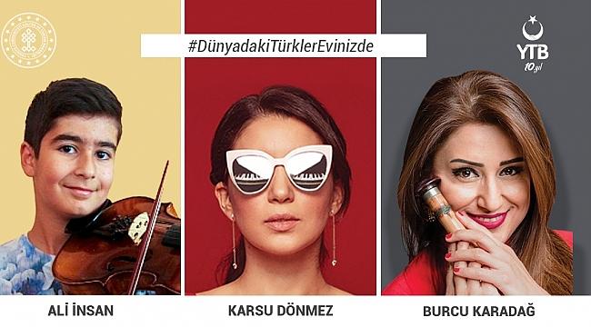 Koronavirüs Salgını Nedeniyle Evinde Kalan Türk Vatandaşlarına Dijital Moral Konserleri