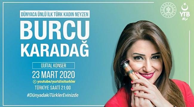 YTB'den,Türk vatandaşlarına dijital moral konserleri