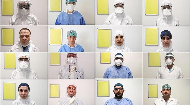 Avrupa'nın en büyük hastanesinde koronavirüs mesaisi