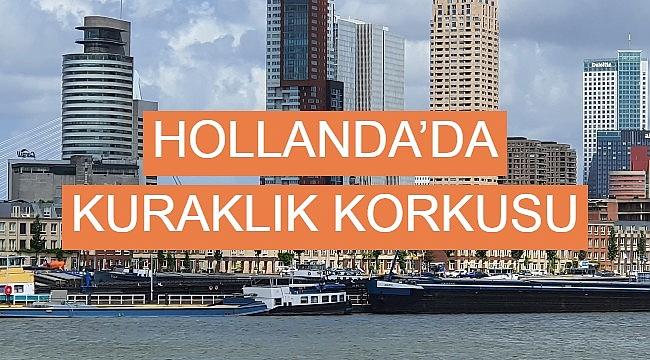 Hollanda'da kuraklık korkusu