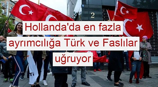 Hollanda'da en fazla ayrımcılığa Türk ve Faslılar uğruyor