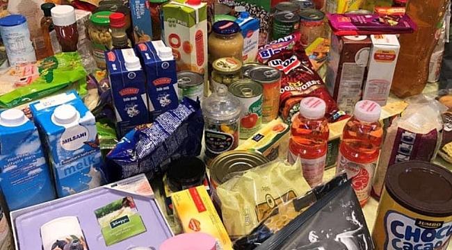 Hollanda Türk Federasyonundan güzel Gıda Yardım Bankasına yardım kampanyası
