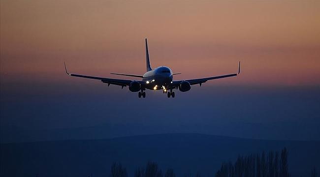 Hava yoluyla en fazla yolcu Avrupa'dan geldi