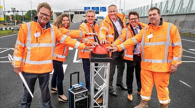 """Hollanda'nın """"en uzun kara tünelinde"""" Rönesans Holding imzası"""