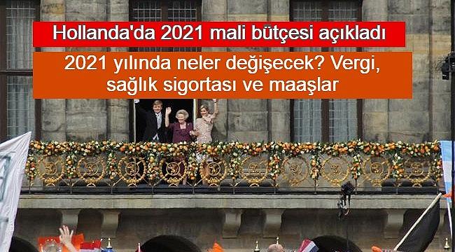 2021 yılı Hollanda bütçesi, Hollanda'da 2021 yılında neler değişecek? Vergi, sağlık sigortası ve maaşlar