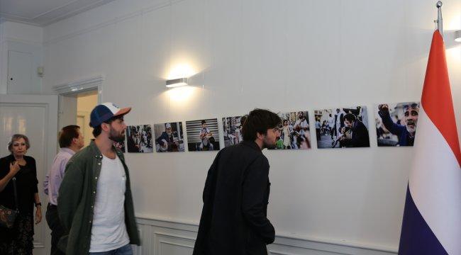 """Hollanda'da """"İstanbul Connected"""" resim sergisi düzenlendi"""
