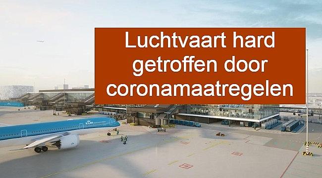 Luchtvaart hard getroffen door coronamaatregelen