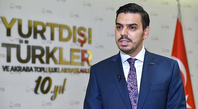 YTB Başkanı Abdullah Eren, Finansal Bilgilerin Paylaşımına İlişkin Uyarılarda Bulundu