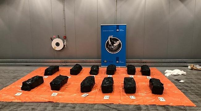 Rotterdam limanında 2 günde 2 bin kilo kokain ele geçirildi