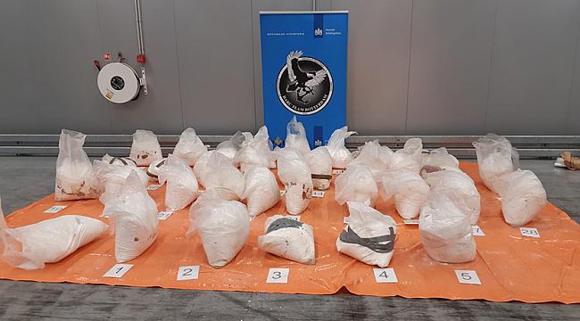 Rotterdam limanında 65 milyon avro değerinde kokain ele geçirildi