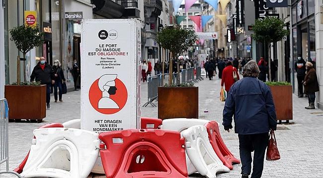 Belçika'da Kovid-19 vaka sayısı 500 bini, ölümler 13 bini aştı