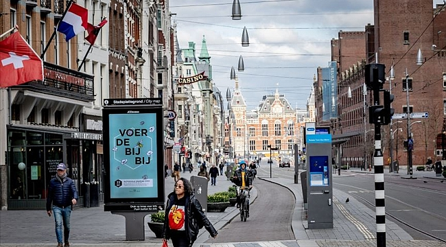 Hollanda'da Covid-19 vaka sayısı son 24 saat içinde yüzde 22 arttı
