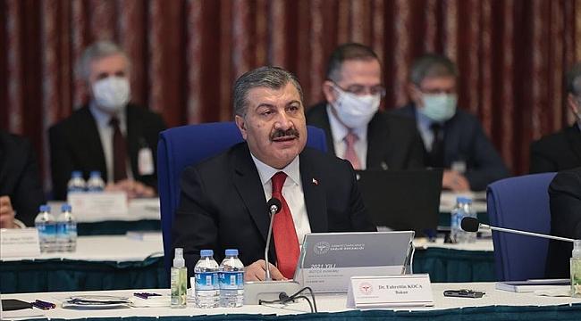 Sağlık Bakanı Koca: Aşımızın devreye girmesi, tahminimiz nisan ayında olur