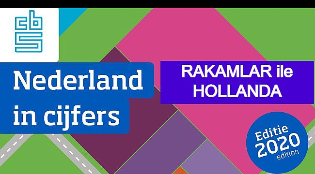 Rakamlar ile Hollanda, 2020 yılı rakamlar ile Hollanda