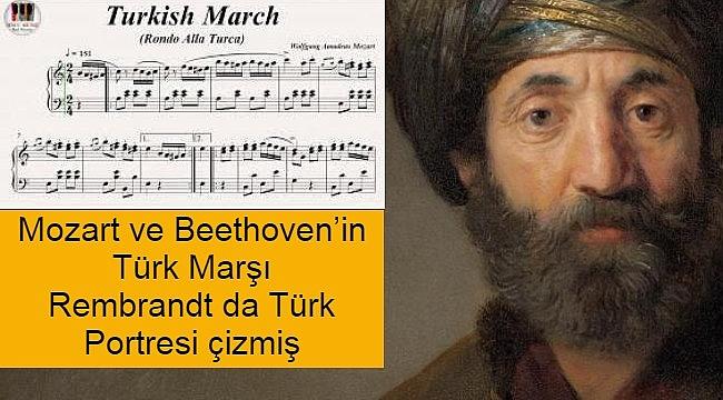 Ünlü Hollandalı ressam Rembrandt Türkler'den etkilenmiş ve bir Türk Portesi çizmiş