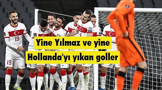 Türkiye'nin Hollanda zaferi Hollanda Medyasında geniş yer buldu!