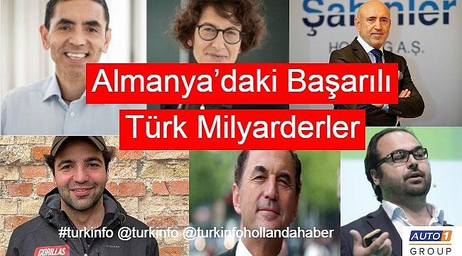 Almanya'daki Başarılı Türk Milyarderlerin sayısı her geçen gün artıyor