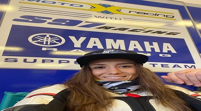 Avrupa'da yarışacak ilk kadın Türk motosikletçi İlayda Yağmur Yılmaz, pistin en hızlısı olmak istiyor: