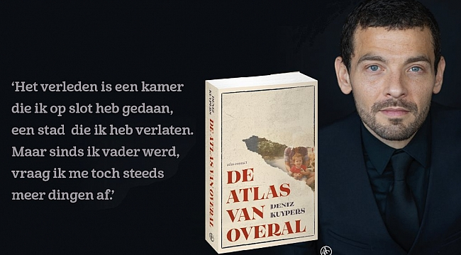HOLLANDA'DA BİR KİTAP DA DENİZ'DEN!