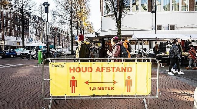 Hollanda'da sokağa çıkma kısıtlamasına uymayanlara 3 ayda kesilen para cezası 9 milyon avroyu aştı