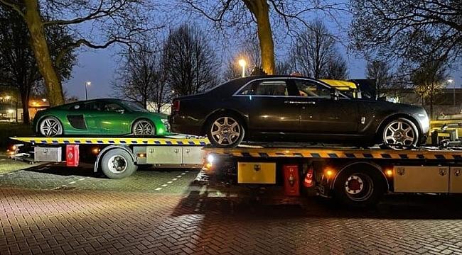 Utrecht polisi 350.000 Euro'luk Rolls Royce Ghost'a el koydu